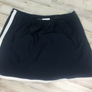 Womens Nike Medium Tennis Skorts Shorts/Skirt Navy